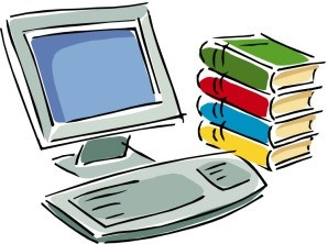 Computer Research Clipart.