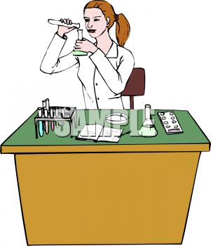 Chemistry Lab Safety Clipart.