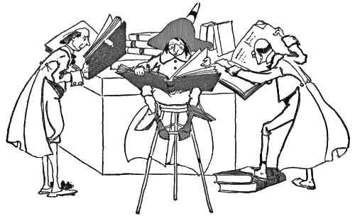 Library Research Clipart.