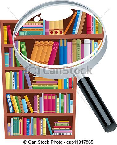 Clip Art Vector of Research 2.