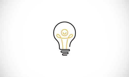 Creative Line Art Logo Design.