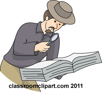 Researcher Clipart.