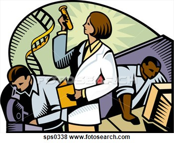 Researchers Clipart.