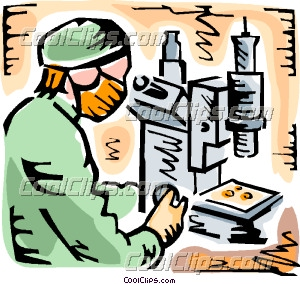 Scientists and Researchers Clip Art.