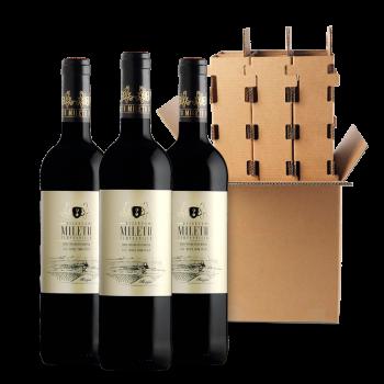 Alvia Wines: Mileto Red Reserva.