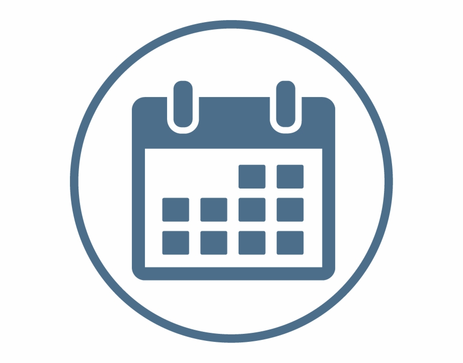 Make A Reservation Icon Calendar Icon Png Round.