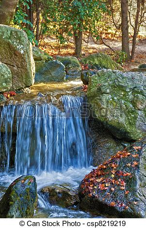 Stock Photographs of Blue Water Spring.