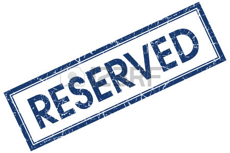 2,928 Reserved Sign Stock Vector Illustration And Royalty Free.