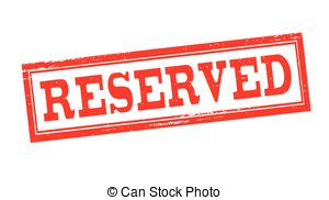 Reserved Vector Clipart EPS Images. 1,020 Reserved clip art vector.