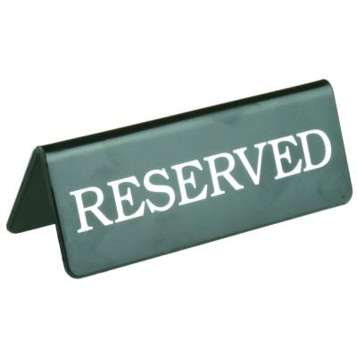 Reserved Clip Art.