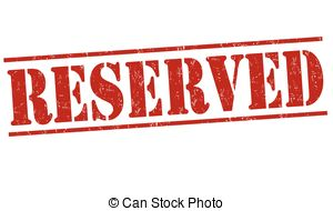 Vector Illustration of reserved square grunge stamp csp41004625.
