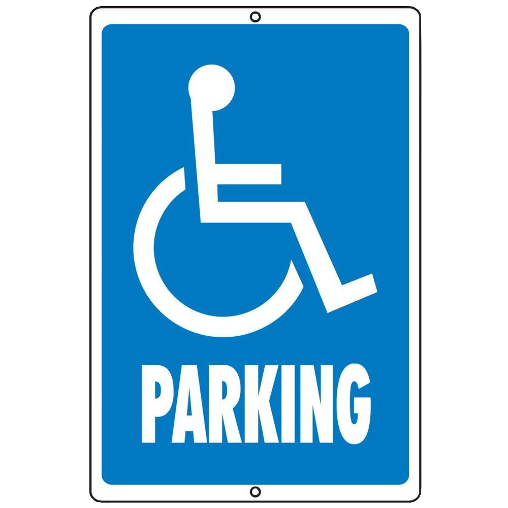 Handicapped Reserved Parking PNG Clipart.