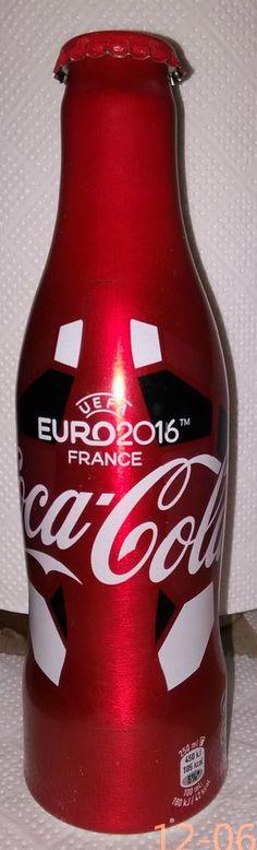 Coca cola Romania bottle coke Aluminium 2016 Limited Edition EURO.