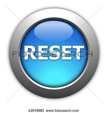Stock Illustration of reset button k2791925.