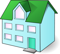 Residence clipart.