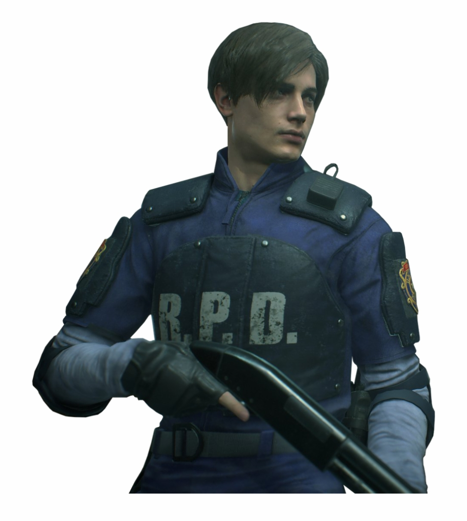 Resident Evil 2 Leon Classic Costume Render Png By.