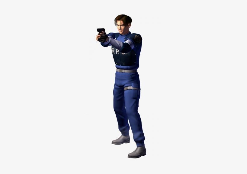 Resident Evil 2 Leon Png.