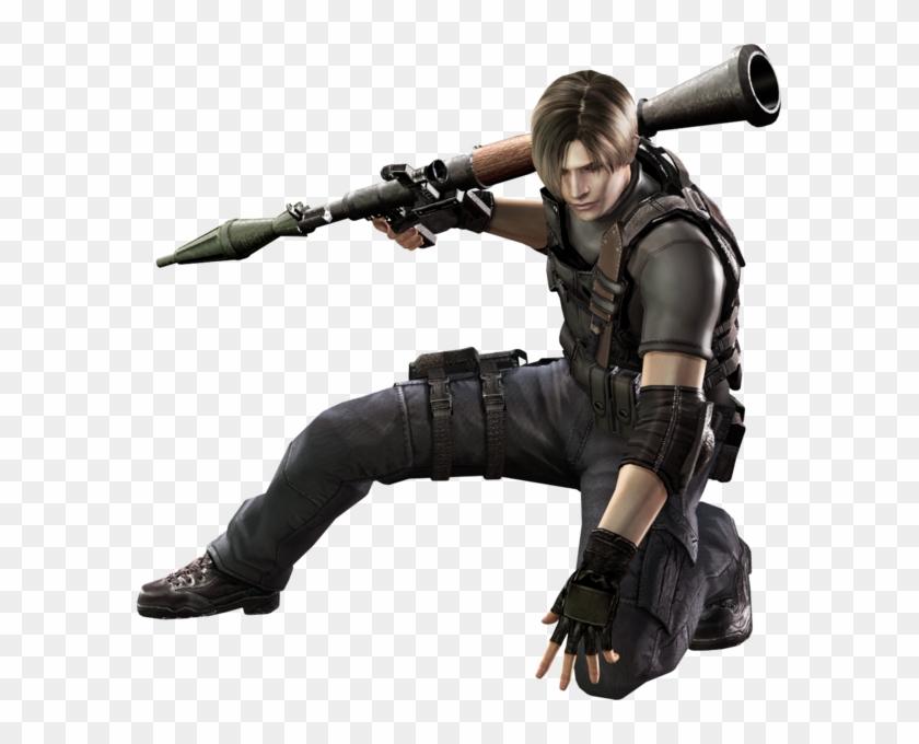 Resident Evil 4 Leon Rocket Launcher.