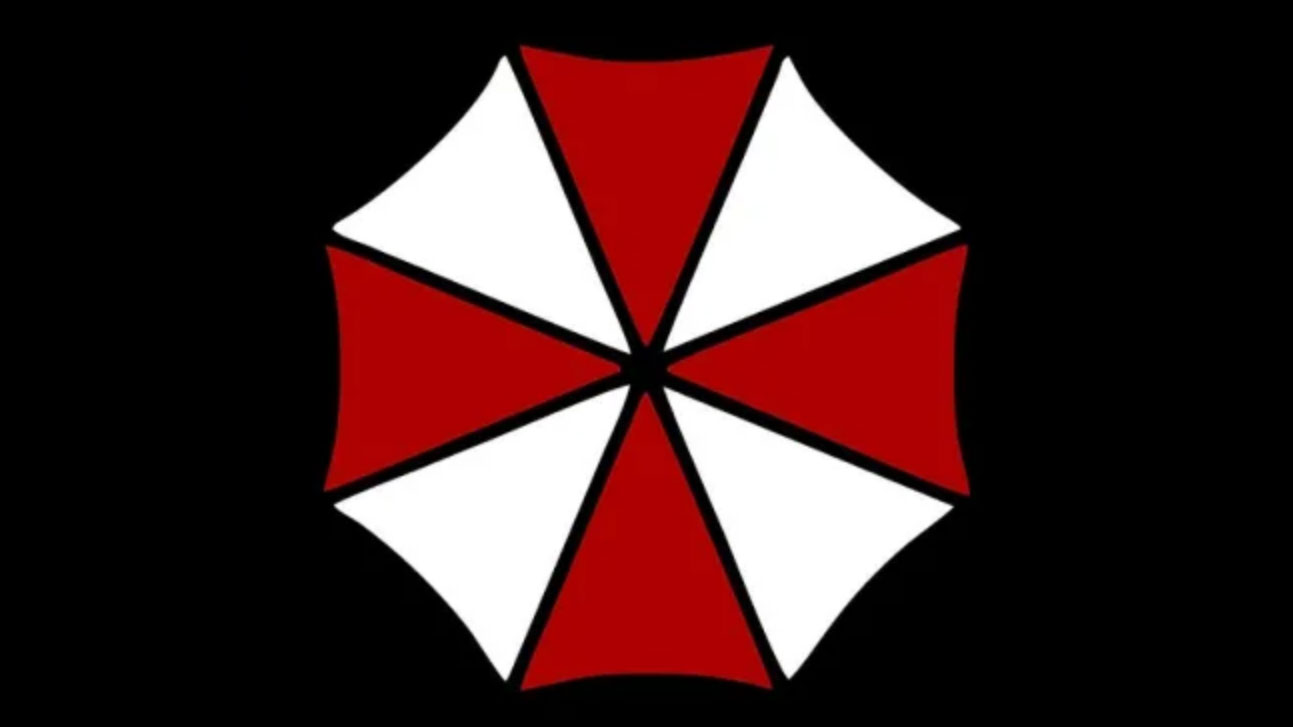 Is a Resident Evil logo being used by a real.