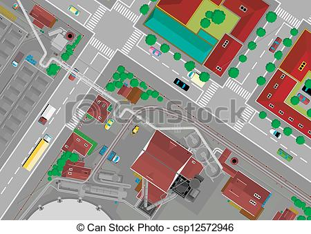 Residential area Vector Clipart EPS Images. 693 Residential area.