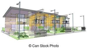 Residential development Stock Illustration Images. 7,791.