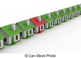 Residential structure team Stock Illustration Images. 67.