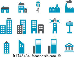 Residential structure Clipart Illustrations. 19,693 residential.