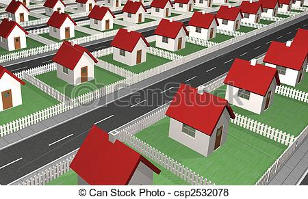 Residential structure Stock Illustration Images. 35,030.