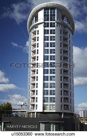 Stock Photography of England, Bristol, Bristol. The Eclipse Tower.