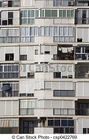 Stock Photographs of residential tower bl.