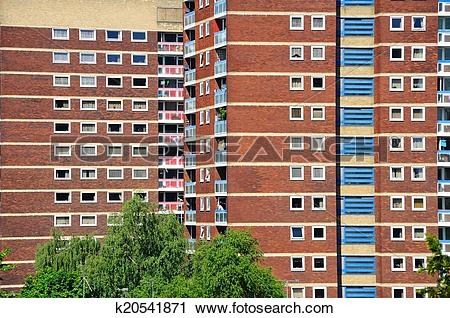 Stock Photography of Residential tower blocks. k20541871.