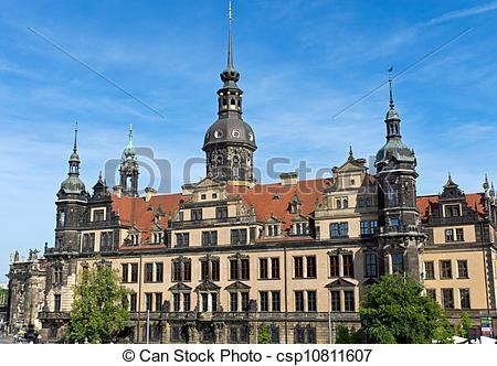 Stock Fotografie von hofburg, Dresden.