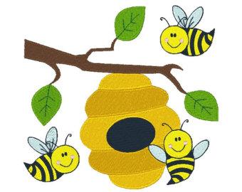 Honey bee design.