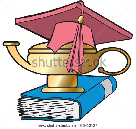 Lamp Of Knowledge Clipart.