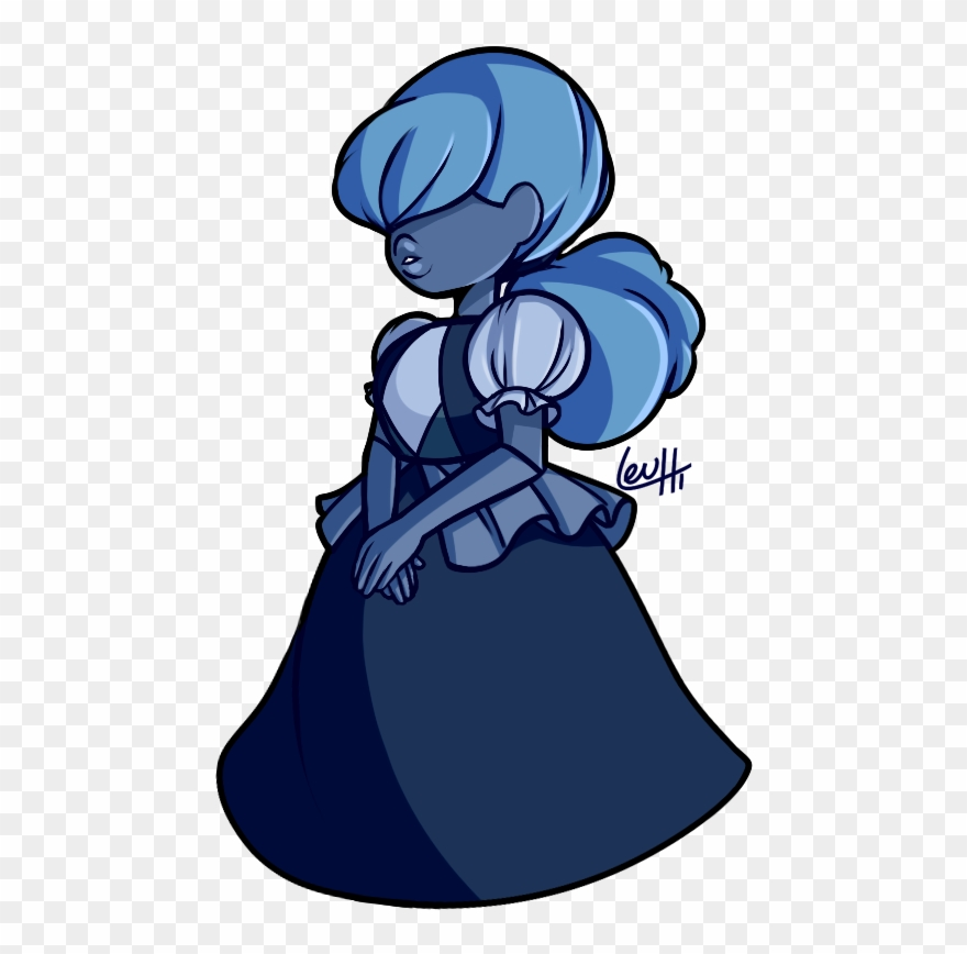 My Friend\'s Sapphire Has A Ponytail And I Can\'t Resist.
