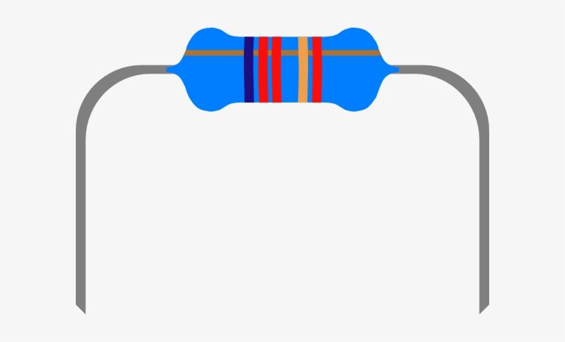Resistor 1 Clip Art.
