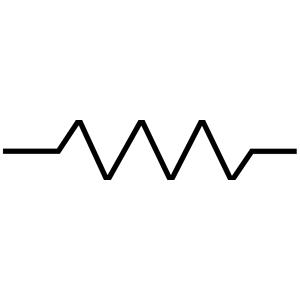 RSA IEC Resistor Symbol clipart, cliparts of RSA IEC.