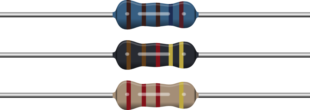 Clip Art: Resistors August.