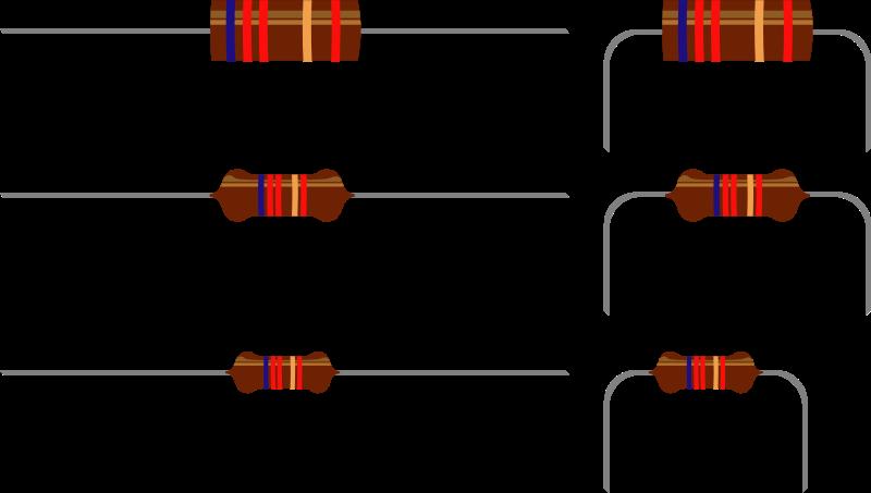 Free Clipart: Resistors.