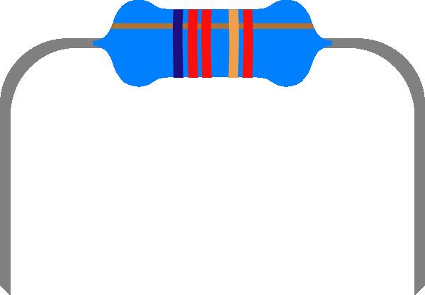 Resistor 1 Clip Art at Clker.com.