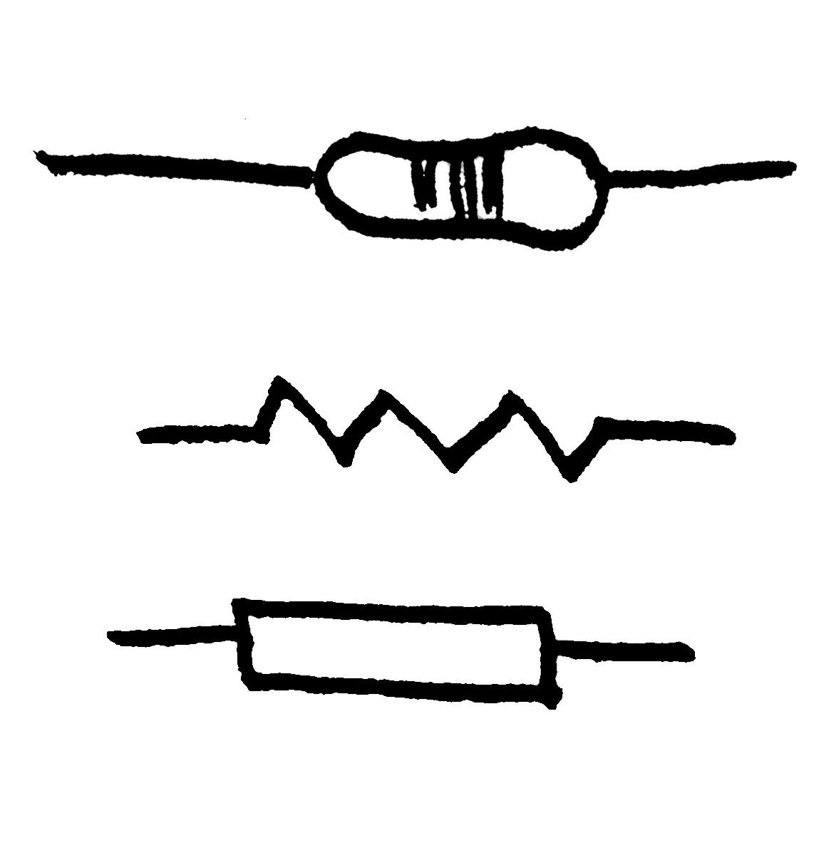 Symbol For Resistor.