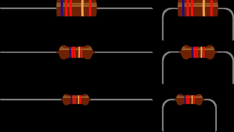Resistors Clipart, vector clip art online, royalty free design.