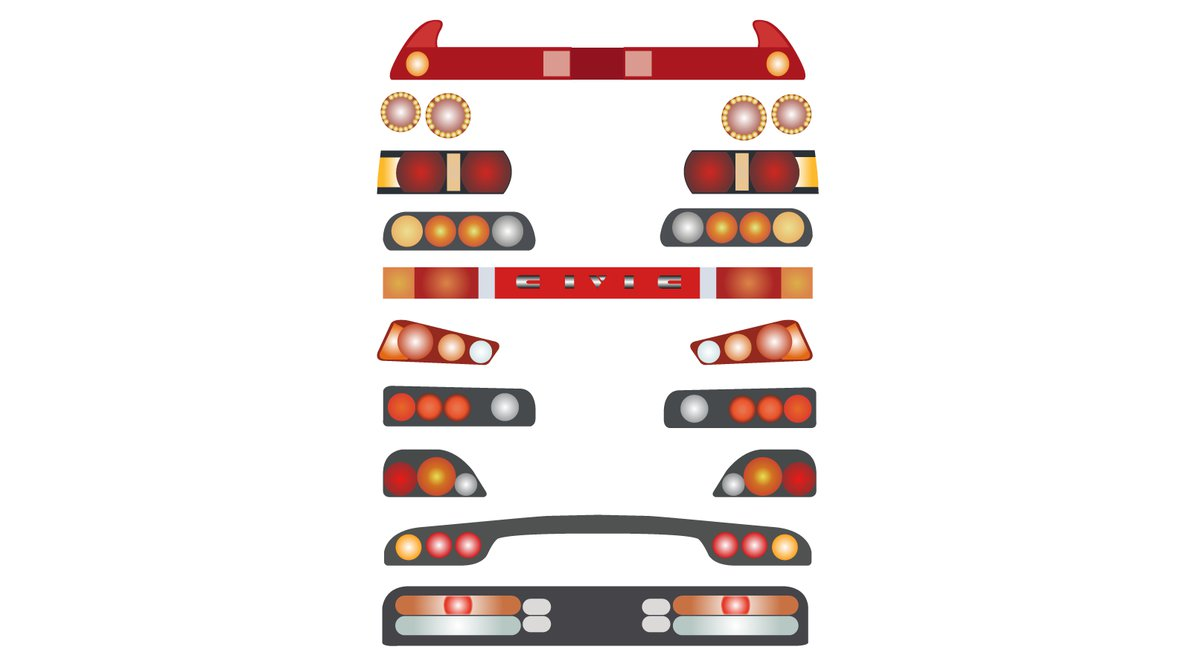 JDM Tail Lights by Reskoe on DeviantArt.