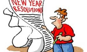 Resolutions Clip Art.