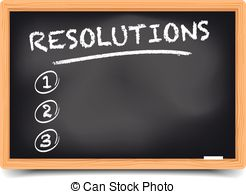 Resolutions Stock Illustration Images. 585 Resolutions.