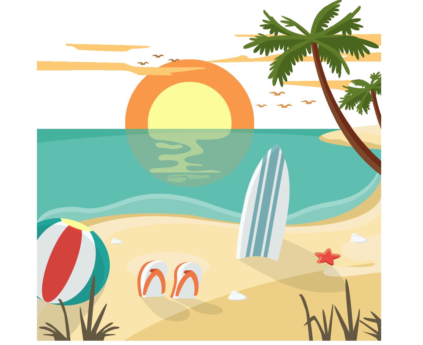 Resort PNG Clipart.