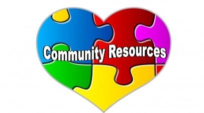 Community resources clipart.