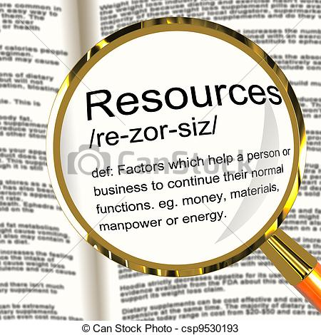 Resource clipart.
