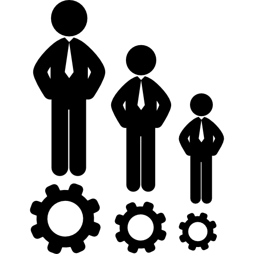 Human resources symbol Icons.