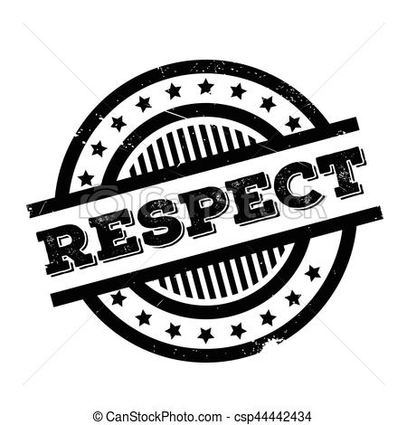 Showing Respect Clipart Black And White.